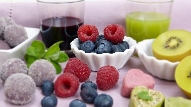 ovoce a pití