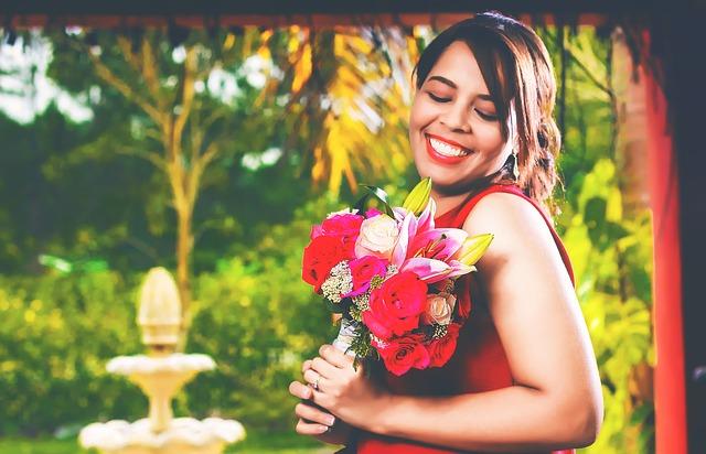 radost z květiny