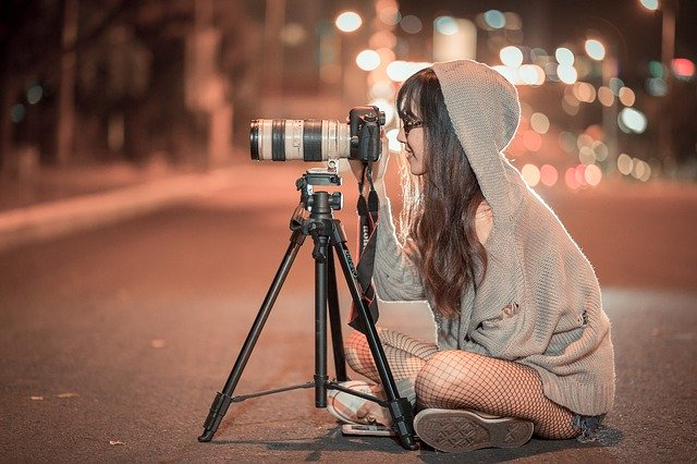 noční fotografování